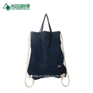 Qualität Doppelt-Schicht Samt-Tasche, Rucksack, Drawstring-Beutel