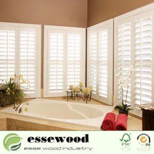 Accueil Salle de bains coin intérieur de l'intérieur de la fenêtre PVC Fenêtre de l'obturateur