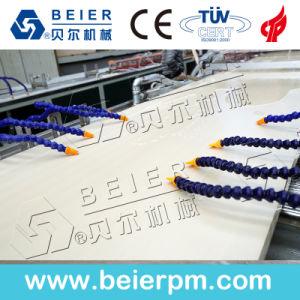 Extrudeuse plastique- bois (WPC) Profil de fenêtre en PVC/Plafond/Conseil/panneau mural/Edge/Feuille de baguage/ Ligne de production d'Extrusion de tuyau