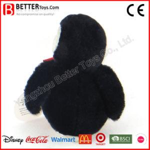 I regali di promozione hanno farcito il giocattolo della peluche del pinguino per i capretti