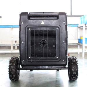 バイソンのデジタルポータブル5kwインバーター発電機ガソリン