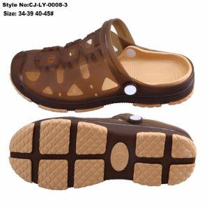 Faible MOQ Mens Clog nouveau matériau de mode de boucher les sandales