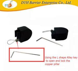 Cable retráctil Pull-Box Antirrobo Mostrar Anillo de cable de acero, el retractor