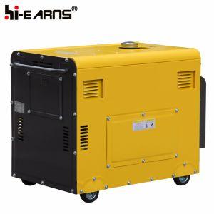 Tipo silenzioso raffreddato ad aria monofase del generatore diesel (DG5500SE)