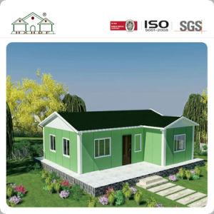 Instalación rápida y bonita de bajo costo prefabricados pequeña Villa Chalet