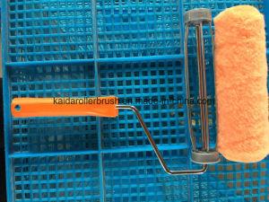 Fibre chimique Panit Brosse rotative avec poignée souple pour tous les peinture
