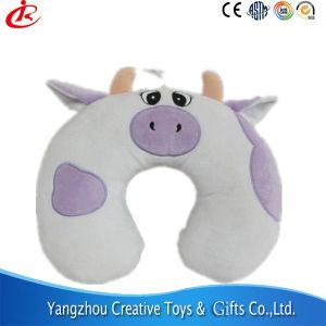 Juguete de peluche almohada cervical almohada en forma de U cerdo almohada