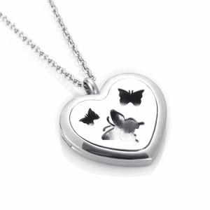 Farfalla in monili Pendant di Aromathrapy di natale del diffusore dell'olio essenziale del cuore
