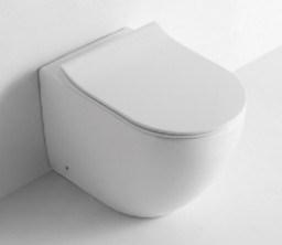 Deux morceau de la porcelaine sanitaire de l'eau de toilette en céramique de placard (NS-3176-FST)