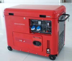 バイソン(中国) BS6500dsec 5kwのセリウムによって証明される専門のディーゼル発電機の販売