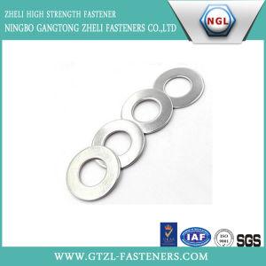 Rondelle plate de plaqué zinc pour l'industrie
