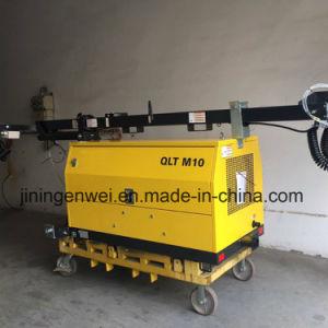 構築のQlt M10移動式手段によって取付けられるディーゼルタワーライト
