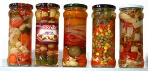 De Groenten van de mengeling met Uitstekende kwaliteit