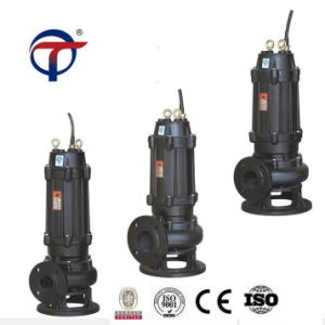 7.5kw 4 Zoll-heiße verkaufenabsaugung-Roheisen-Abwasser-Pumpen-China-Fabrik