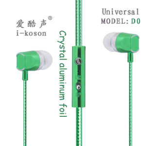 デザイン順序の耳ユニバーサル明るいカラーイヤホーンを冷却しなさい