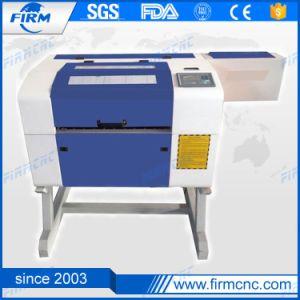 Timbre en caoutchouc du bois de plexiglas Mini machine à gravure laser