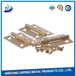 Kundenspezifisches Blech-quadratisches Stahlscharnier mit Kugellager