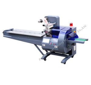 Máquina de envasado horizontal totalmente automática, Máquina de embalaje precio de fábrica de Motores Servo