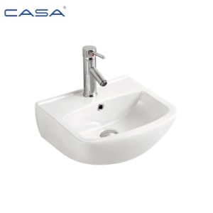 Ванная комната - керамические стены повесил установлен ручной мойки раковины бассейнов