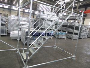 Ringlock Cuplockのための足場システム階段単位の足場