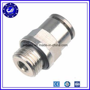 Metálica de acero inoxidable de conexión rápida de los racores de neumático