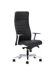 Chaise De Bureau En Cuir Litire Moderne Haute Couture SZ OC131 2
