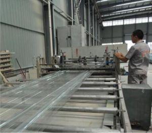 Feuilles de toiture de résine renforcée des lignes de production