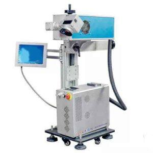 machine de marquage au laser UV pour bouteille en plastique PVC