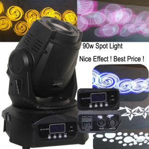 Foco LED 90W de iluminación de la etapa de la cabeza en movimiento