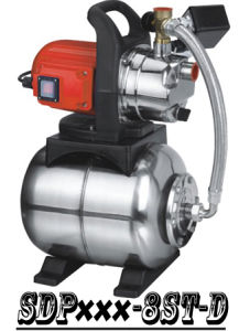 (SDP800-8ST-D) Pompa di innesco del getto autoadescante del giardino con il serbatoio di acciaio
