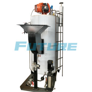 中国のコンパクト500kg/Hオイルの蒸気ボイラ