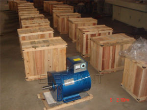 CA Altenrator Brush Dynamo di 30kw Generator Head