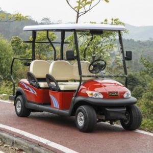 4 de Batterij In werking gestelde Kar van het Golf Seater met Goedkope Prijs