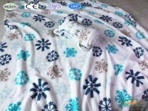 2018新しいパターン雪片の赤ん坊の投球の印刷ファブリック毛布