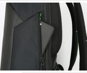 Antirrobo de alta calidad impermeable Bolsa Mochila para portátil con USB