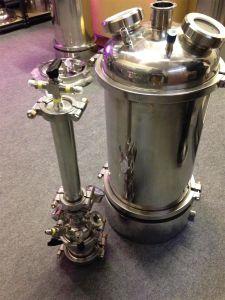 ステンレス鋼タンクを得るための三クランプ揚水管