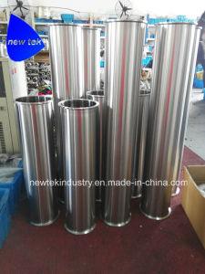 3  Dewaxer Tri-Clamp colonnes avec orifice de vidange