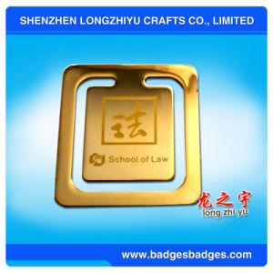 Argento del segnalibro del metallo di figura dell'innamorato con struttura