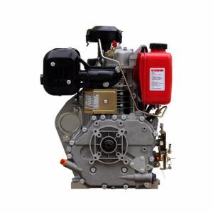 최신 기계장치를 위한 판매 단 하나 실린더 공기에 의하여 냉각되는 13HP 소형 디젤 엔진