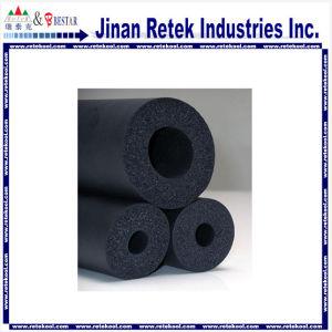 PVC negro/NBR de plástico Tubo de goma espuma de aislamiento con RoHS