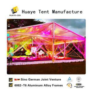 500 personas, bodas y fiestas tienda con techo transparente