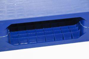 Nestable One-Face Nestable sólido plano de armazenamento de plástico palete