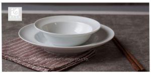 Venda a quente 8 placa cerâmica  Corpo branco Nice Imprimir a impressão de frutas