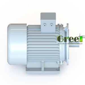 900kw 900rpm Laag T/min 3 AC van de Fase Brushless Alternator, de Permanente Generator van de Magneet, de Dynamo van de Hoge Efficiency, Magnetische Aerogenerator