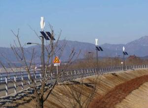 小さい縦の軸線の風力500W 24/48Vの速度11m/S風力500ワットの