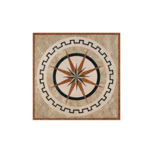 Asainの販売As05のための石造りの大理石のWaterjet円形浮彫りパターンモザイク・タイル