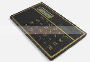 Calcolatore Pocket sottile ultra sottile di energia solare di disegno della carta di credito delle 8 cifre mini