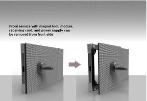 높은 정의 임대 단계 발광 다이오드 표시 광고를 위한 P3 풀 컬러 실내 옥외 발광 다이오드 표시 스크린 /Panel