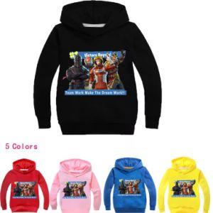 Venta de artículos Fortnite mejor ropa para niños otoño sudaderas con capucha Sudadera niños populares
