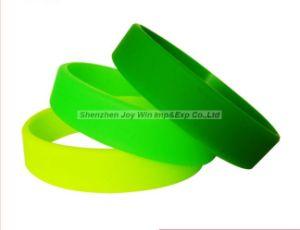 Colore puro promozionale senza braccialetto del silicone di marchio